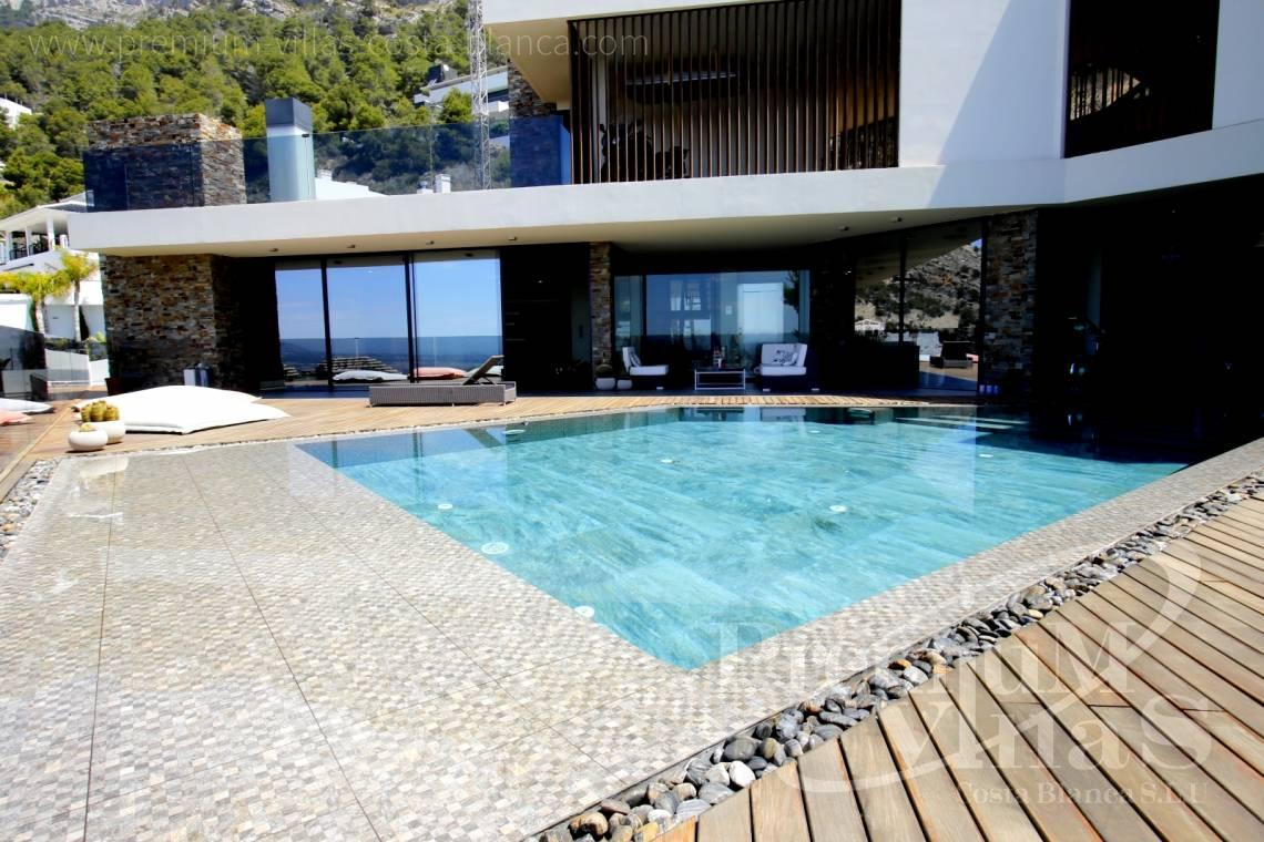 Buy house villa mansion luxury Altea Costa Blanca - C2173 - Ultra-modern villa in Altea Hills with elevator, spa and stunning sea views. 3