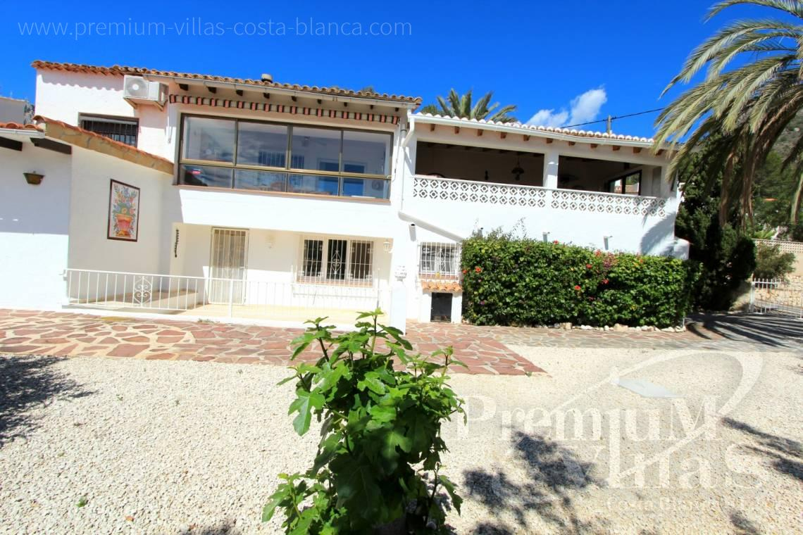House near the beach in Calpe Costa Blanca - C1952 - House with a flat plot and lots of potential close to the sea and with sea views 6