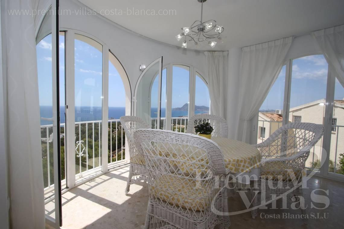 buy house villa Altea Costa Blanca - C2055 - Villa with stunning sea views 4