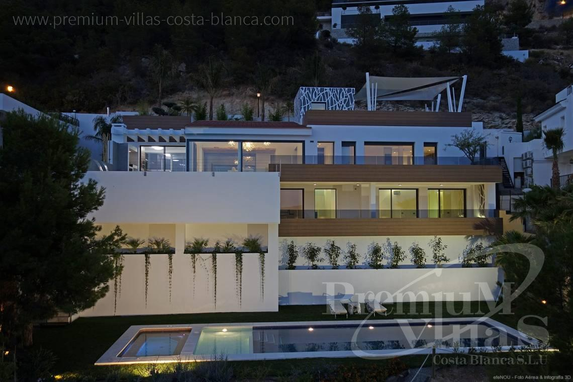 Buy 4 bedrooms house villa Altea Hills Costa Blanca - C1855 - Luxury villa in Altea Hills with stunning sea views and two pools 36