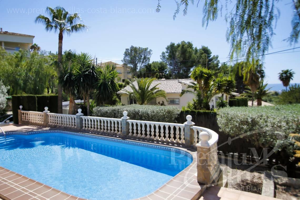- C2129 - Privately located villa with sea view and beautiful garden in Altea 23