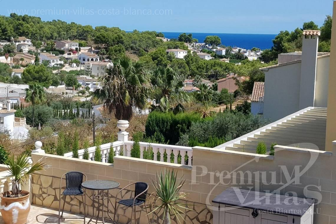 Buy villas houses sea view Altea Calpe Moraira Benissa Costa Blanca - C2233 - Renovated villa 800m from La Fustera beach 3