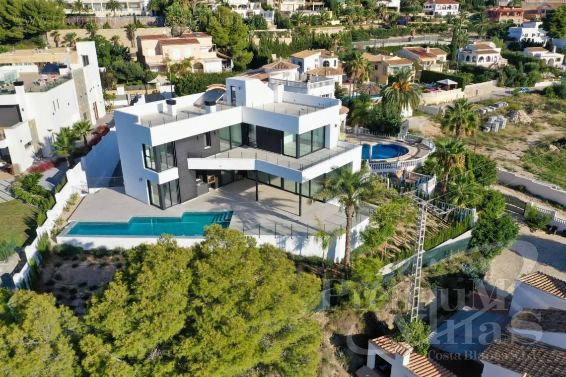 Luxury villa for sale in Calpe Costa Blanca - C2374 - Luxury villa with sea views in Les Bassetes, Calpe 1
