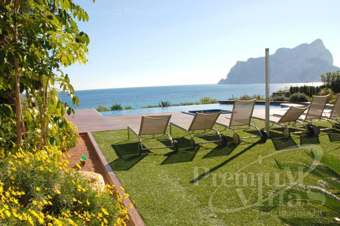 buy luxury frontline villa in Calpe Costa Blanca - CC2340 - Luxury frontline villa in Calpe 2