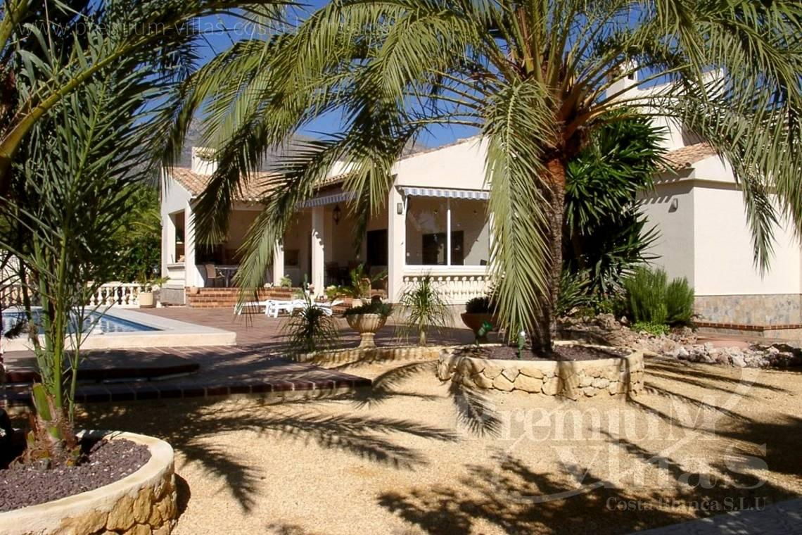 property for sale La Nucia Costablanca - C1075 - Villa set on a flat plot of 4500sqm close to supermarkets 17