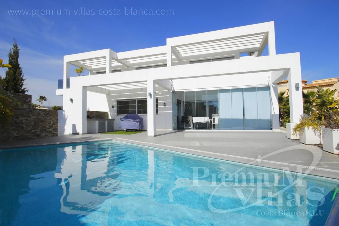 Modern house villa in Calpe Costa Blanca - C2130 - Modern villa for sale next to the town Calpe 1