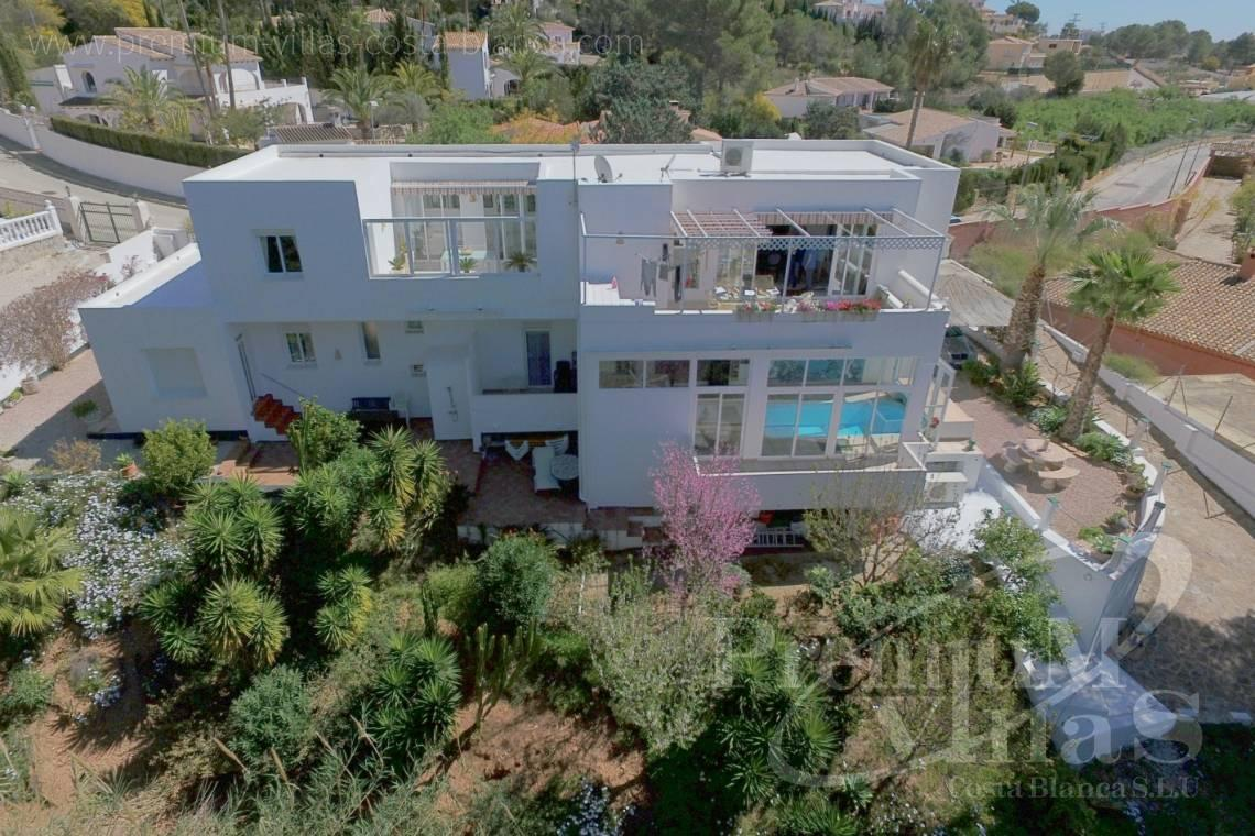 house villa for sale Altea Costa Blanca Spain - C2141 - House in Altea with indoor pool, sauna, lift and guest apartment 4