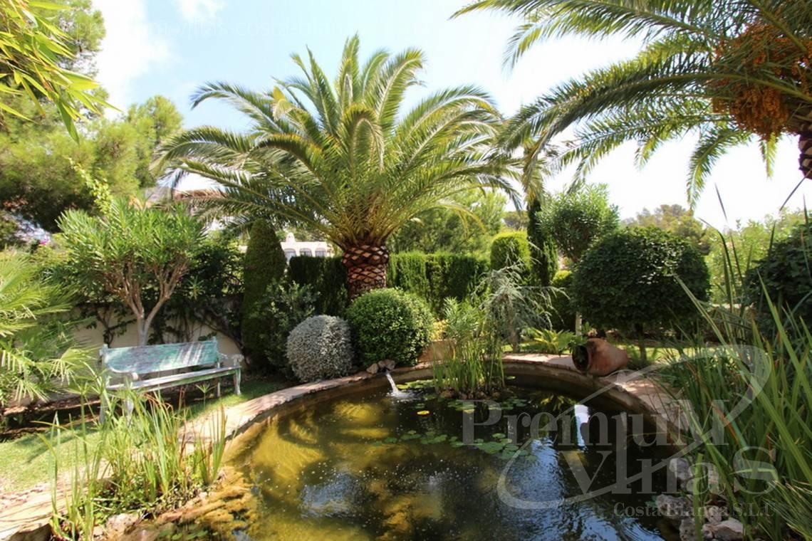 Garden in the luxury villa in the Sierra de Altea Costa Blanca - CC1908 - Luxury villa at one of the nicest locations of Altea with breathtaking sea views 10