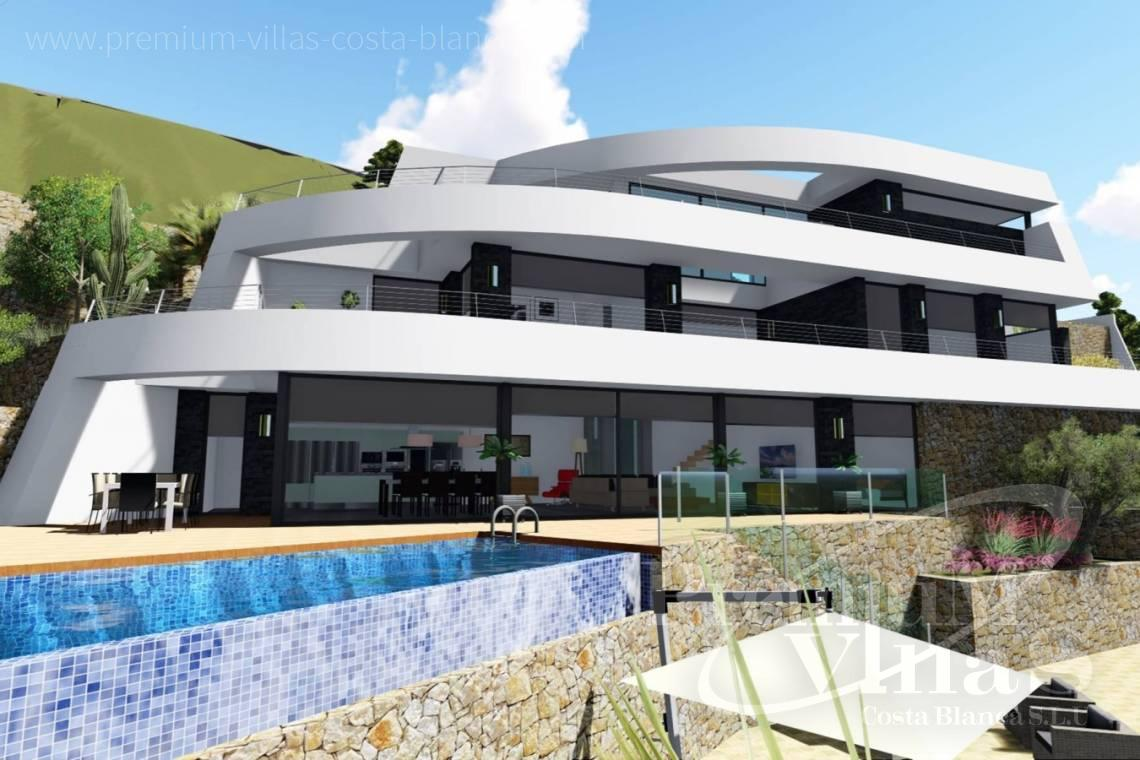 Buy modern villa in Benissa Costa Blanca - C2122 - New project in Benissa with panoramic views over the whole Calpe. 21