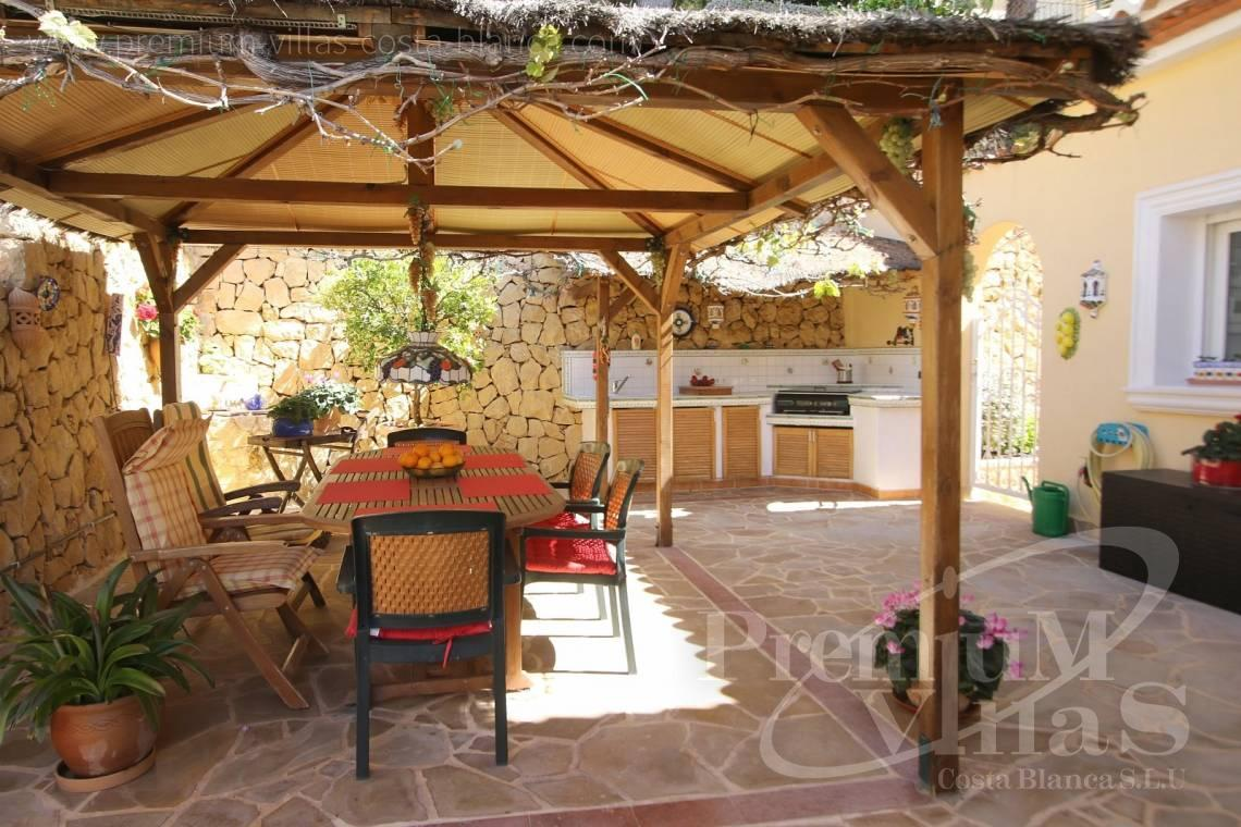 Buy villa with outdoor kitchen in Altea Spain - C2041 - Location, location location! Fantastic villa in Altea Hills  9