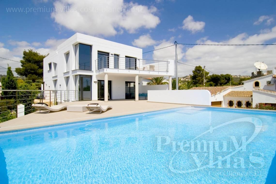 Buy a modern villa in Benissa Costablanca - C2002 - Modern villa for sale near the sea 2