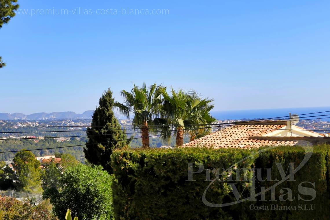 Villa with sea views for sale in Cucarres Calpe  - C2265 - Sea view mediterranean villa 3 bedrooms in Calpe 2