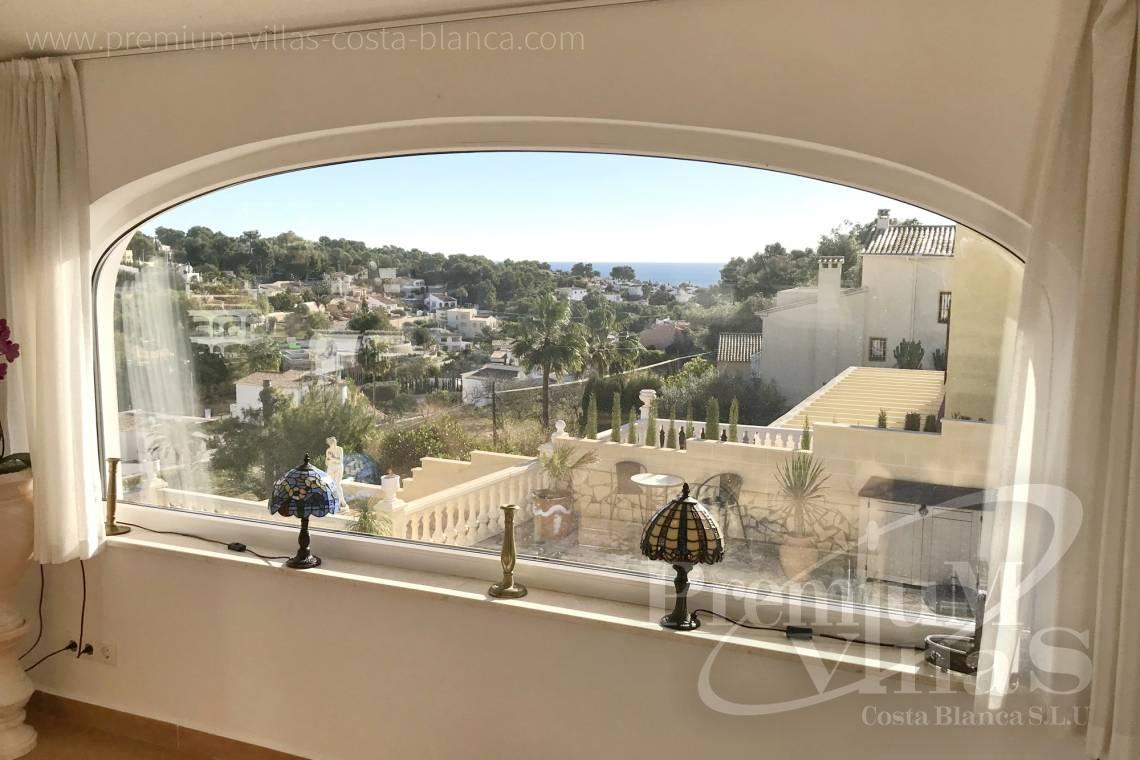 Buy villas houses sea view Benissa Costa Blanca - C2233 - Renovated villa 800m from La Fustera beach 4