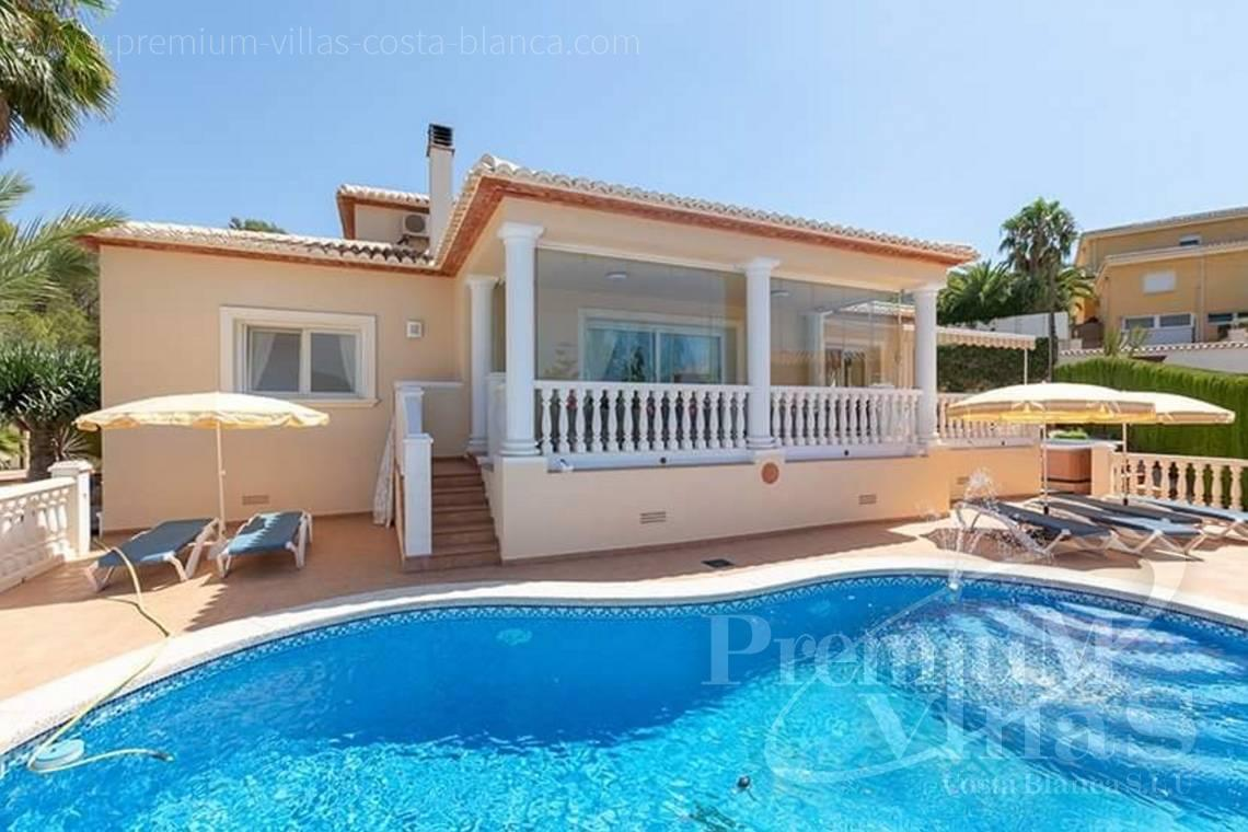 House in urbanization Cometa III Calpe Costa Blanca - C2235 - Beautiful house for sale  2