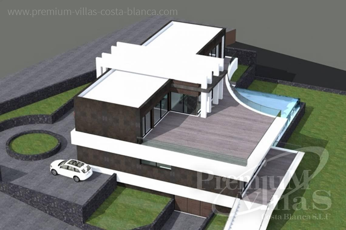 - C1698 - Modern design villa for sale with nice sea views in Benissa  12