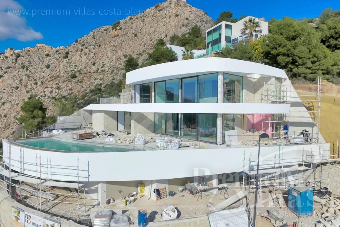 Buy modern villa with sea views in Altea on the Costa Blanca - C1852 - Luxury villa with amazing sea views 1