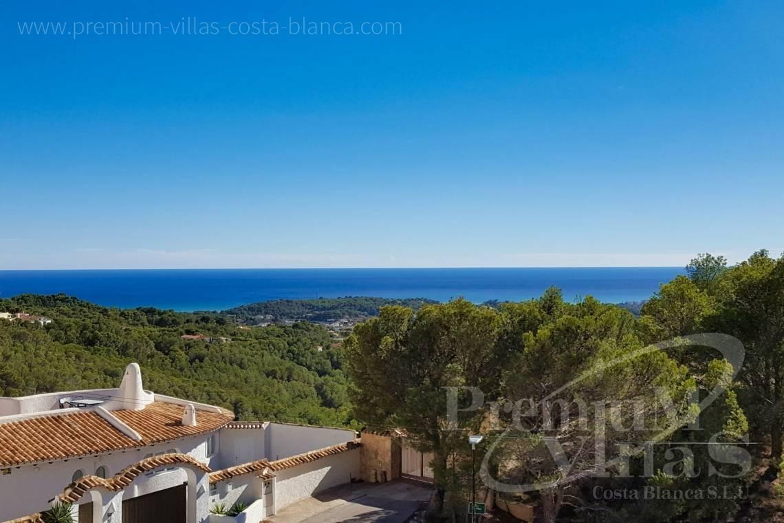 Villas for sale with sea views in Altea Costa Blanca - C2325 - Modern villa with sea views in Altea La Vella 2
