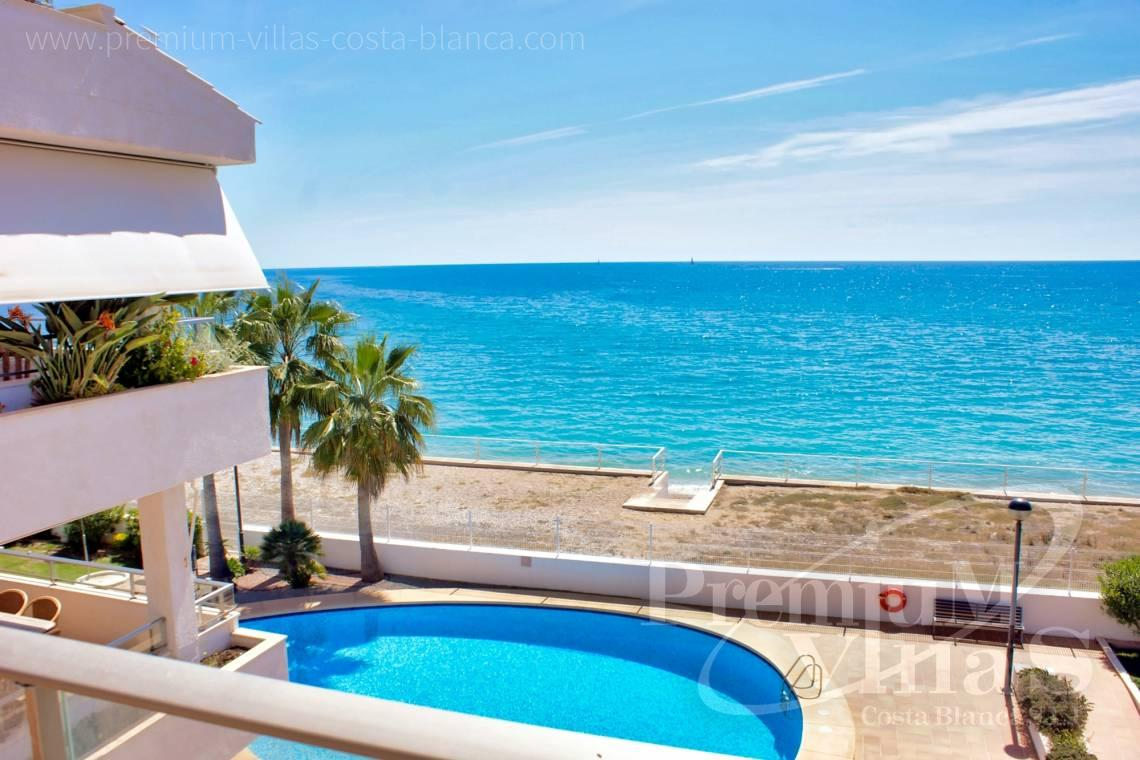 3 bedrooms first line beach apartment in Altea Costa Blanca - AC0615 - First line beach apartment in Altea 1