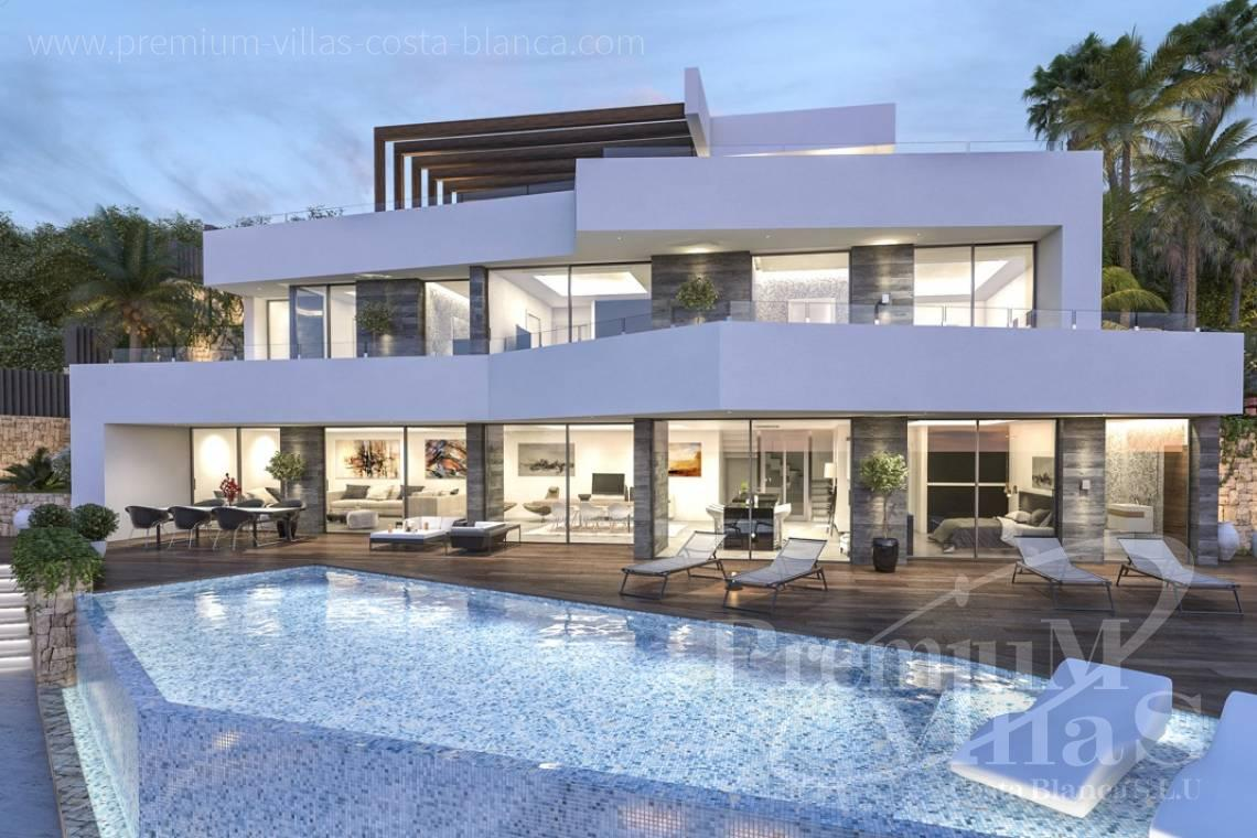 Modern 4 bedroom villas in Benissa Costa Blanca - C2000 - Modern luxury villa in Benissa for sale with stunning sea view 26
