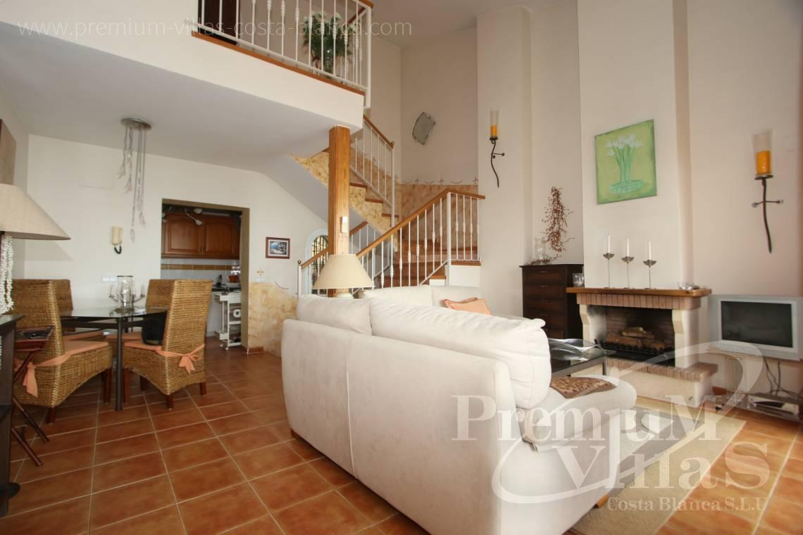 - C2086 - Cosy townhouse with wonderful sea views in the Sierra of Altea 6