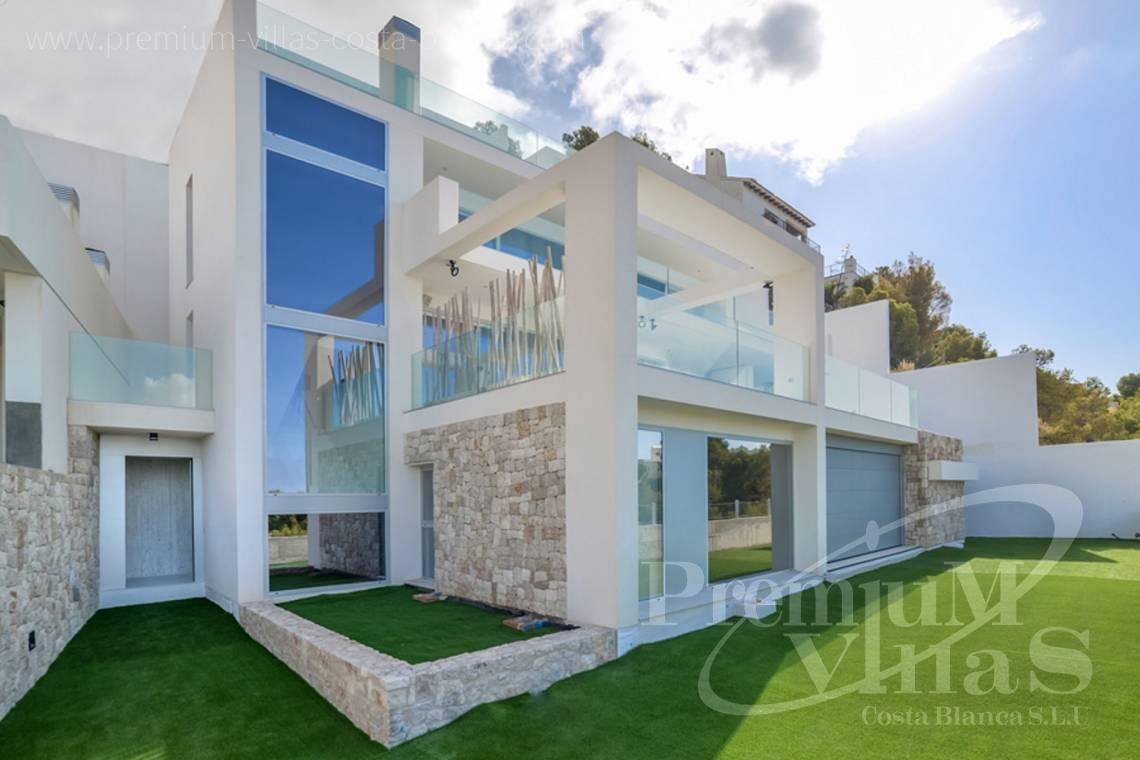 modern house Altea Costa Blanca - C1472 - Modern villas (4 units left) with sea views in Altea 3
