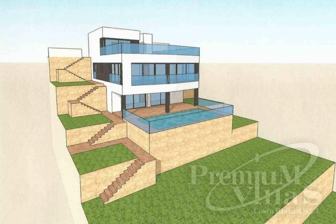 - C2390 - Modern villa with elevator and sea views in Calpe 13