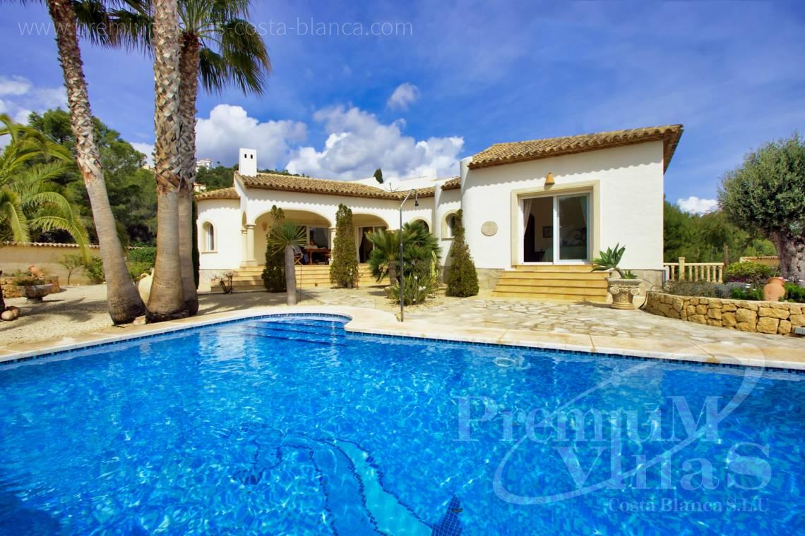 finca land house for sale Alfaz del Pi Costa Blanca - C2241 - Villa with guest house in Alfaz del Pí 1