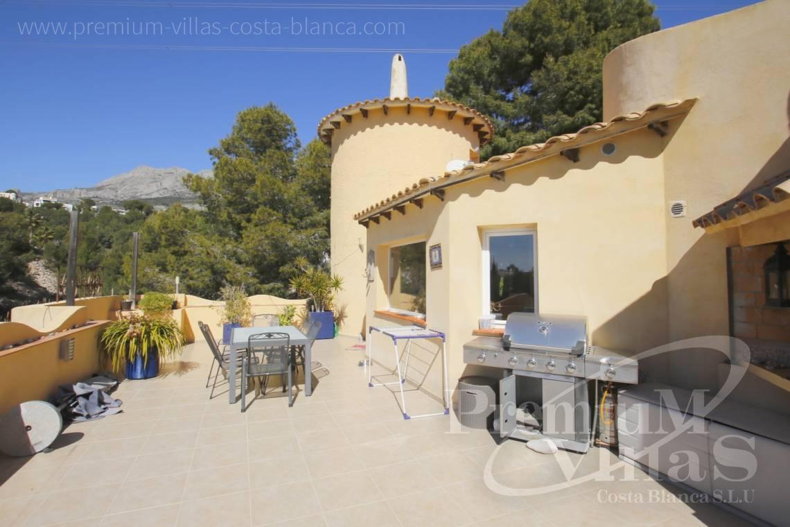 Buy 4 bedroom villa in Altea Costablanca - C2052 - Mediterranean villa for sale with modern interior 4