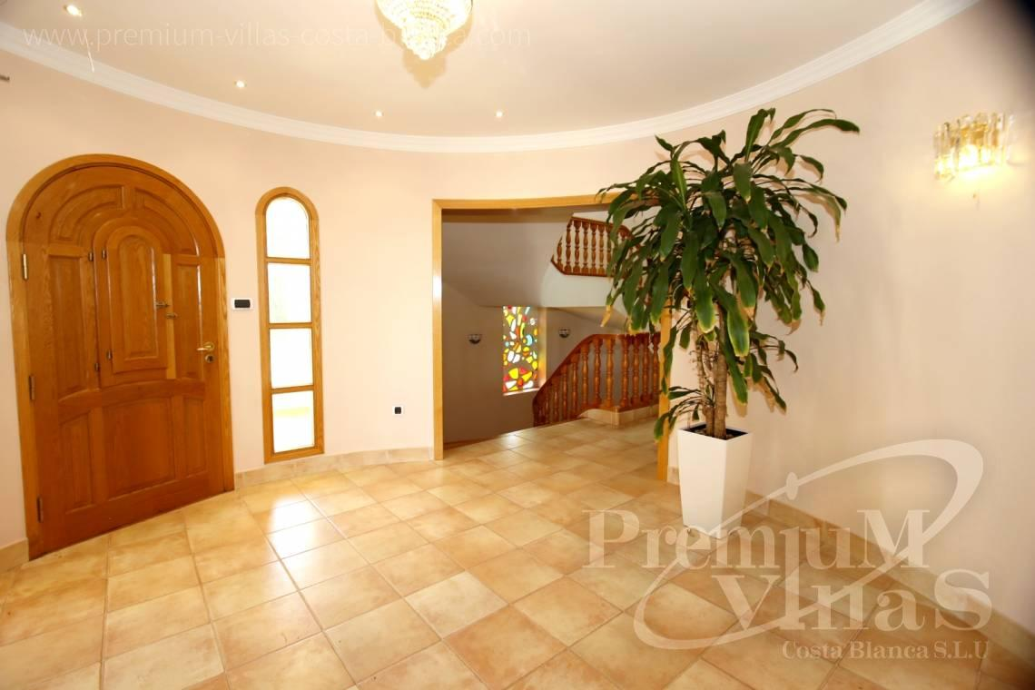 - C2174 - Luxury mansion on 3 levels with elevator and sea views in Calpe 11
