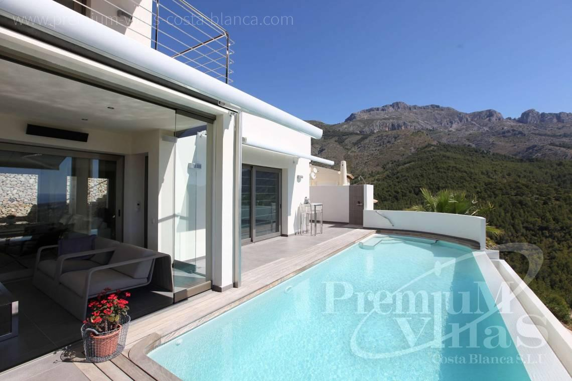 modern villas for sale Costa Blanca Spain - C2057 - Modern luxury villa in Altea La Vella 33