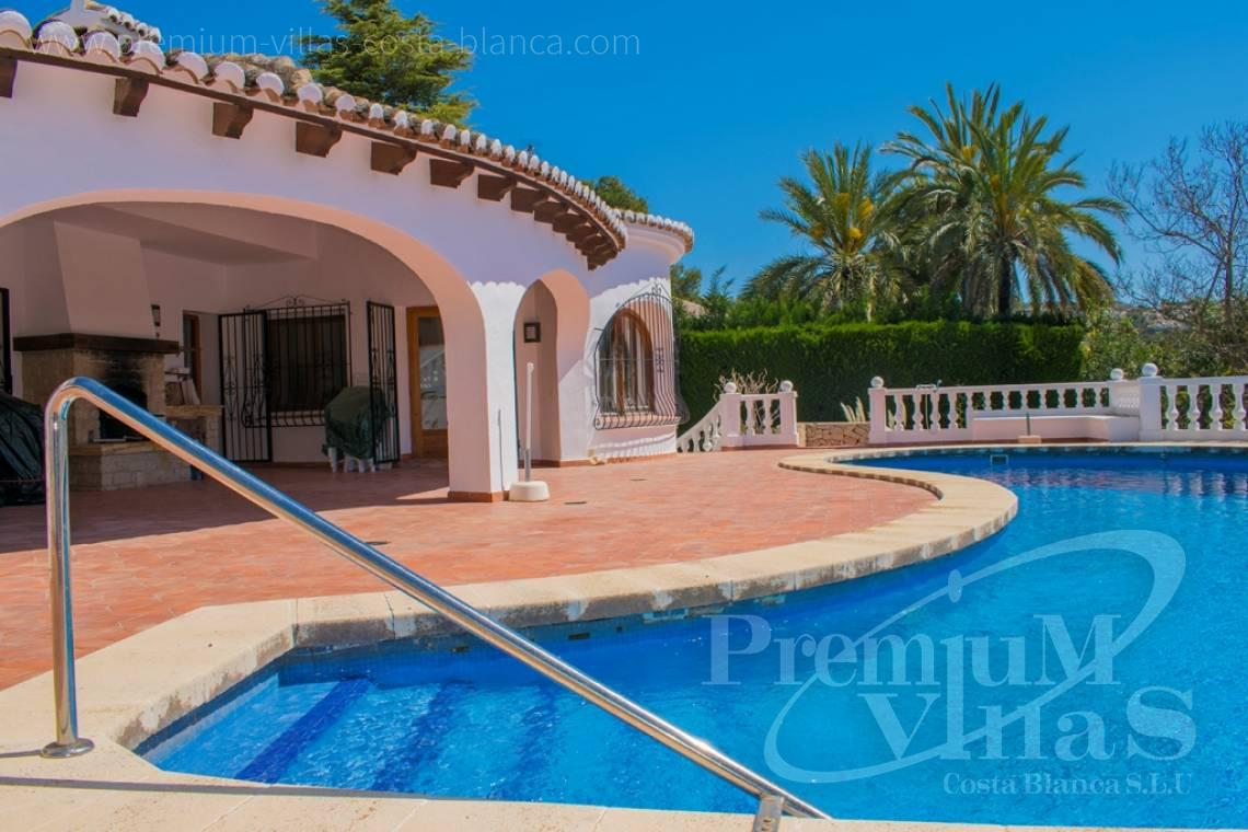 One-storey villa for sale in Moraira Costa Blanca - CC2403 - One storey Mediterranean villa in Moraira 3
