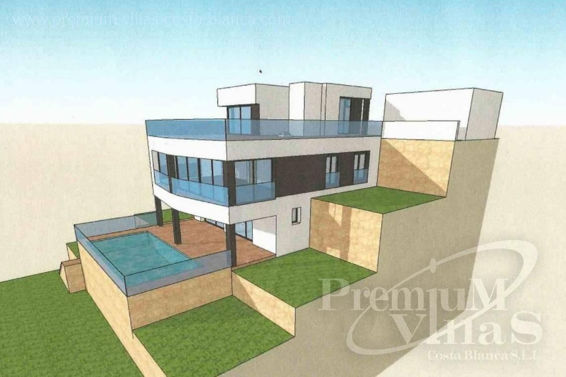 - C2390 - Modern villa with elevator and sea views in Calpe 14