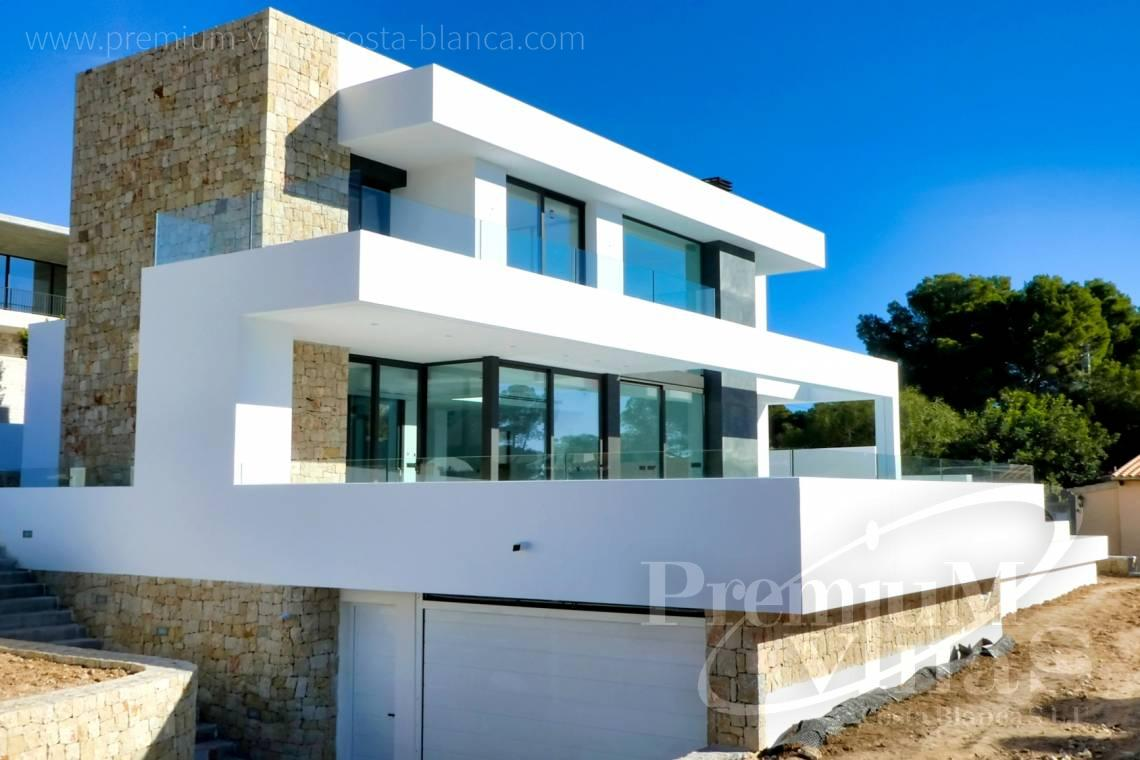Modern villa for sale near the beach in Moraira Spain - C2176 - Modern villa in Moraira close to the beach and the golf course  1