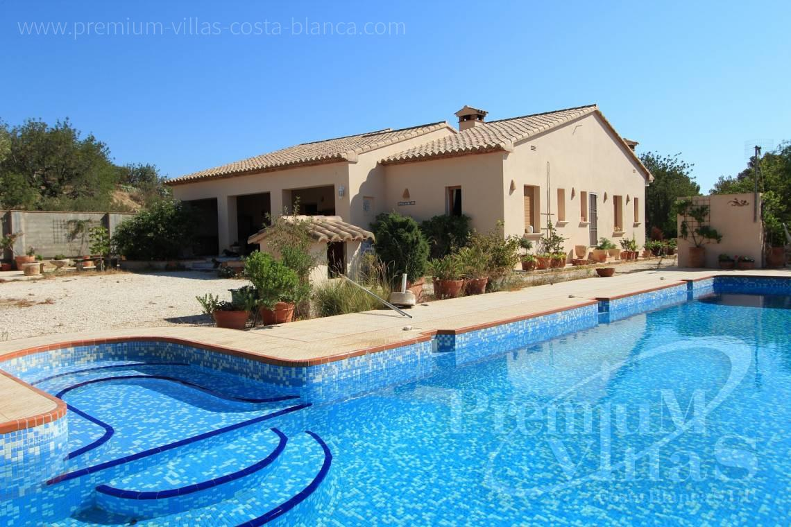 finca land house for sale Benissa Costa Blanca - C1826 - Spacious country house with two guests studios ideal place for horses 1