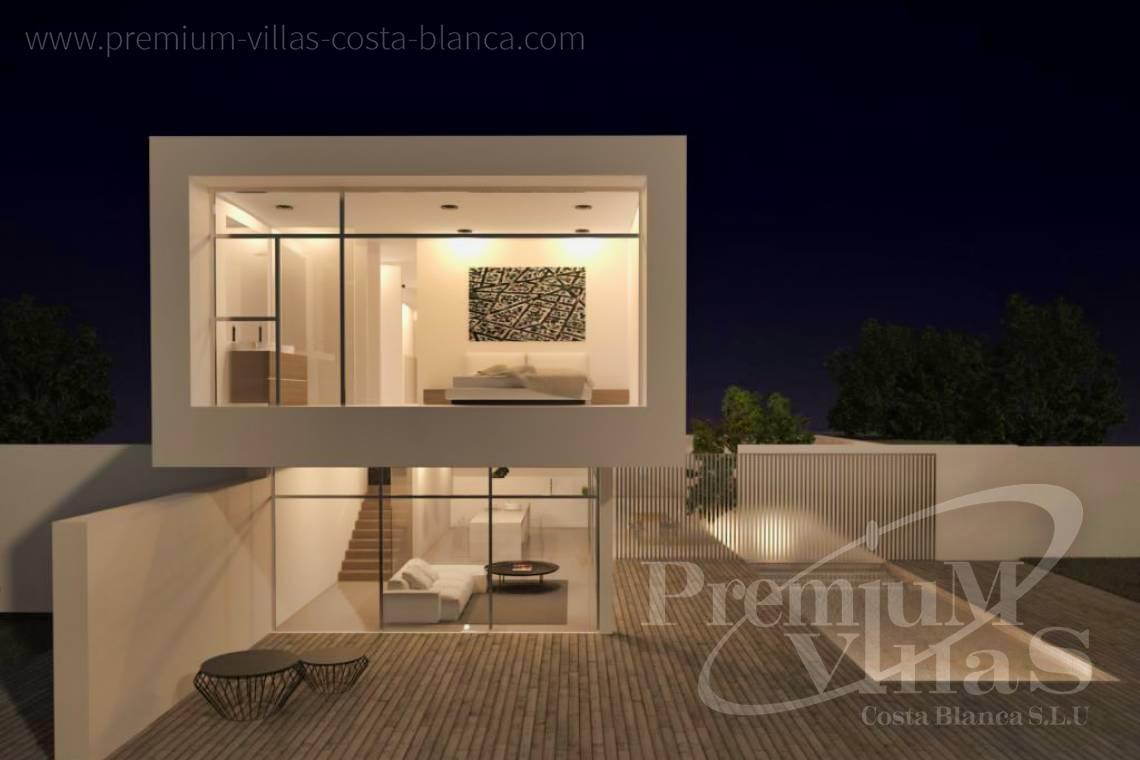 buy property Moraira Costa Blanca - C2219 - New construction: Modern villa 2km from the beach and the centre of Moraira. 2