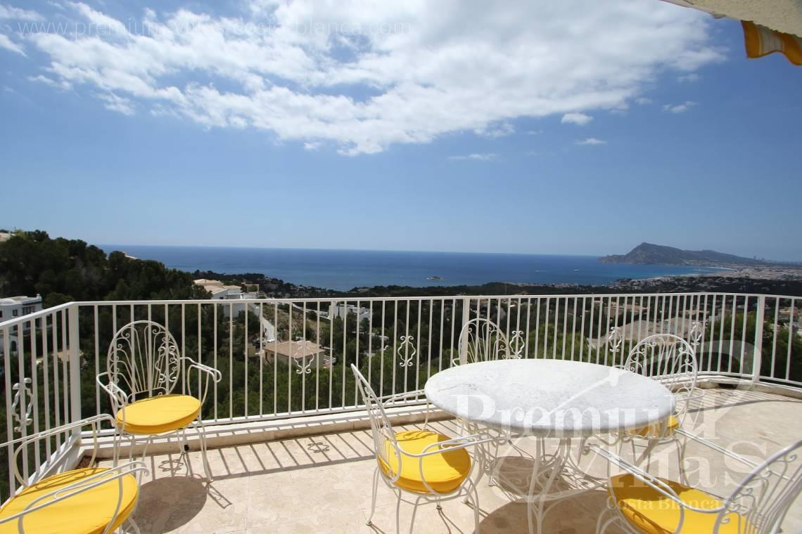 house villa for sale Altea Costa Blanca Spain - C2055 - Villa with stunning sea views 2