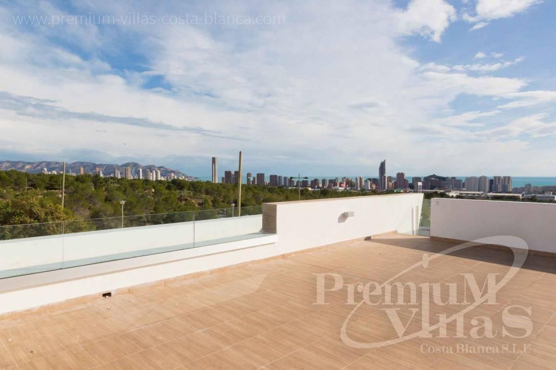 Modern villas with sea views in Benidorm Costablanca - C2013 - Modern villas under construction for a very good price! 2