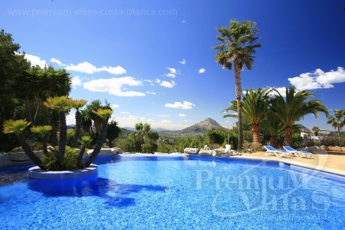 buy villa house Costa Blanca Spain - CC2195 - Mediterranean villa in Jávea with stunning sea views. 3
