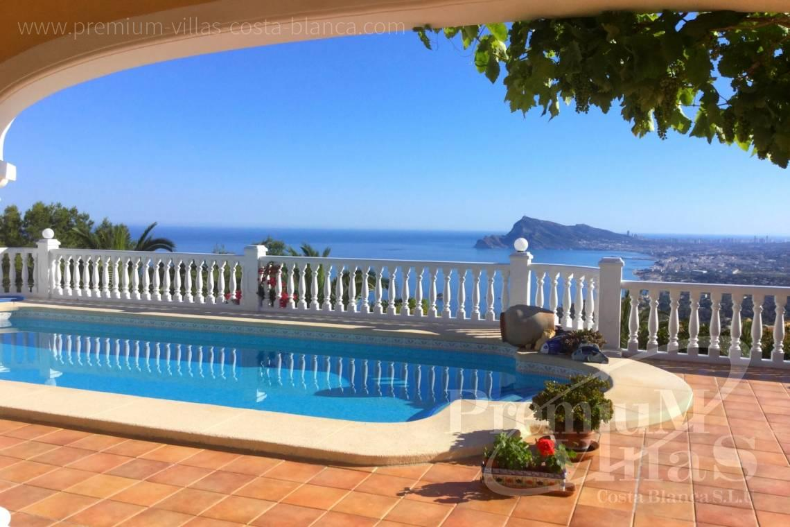 Villas with sea views in Altea Hills Costablanca - C2041 - Location, location location! Fantastic villa in Altea Hills  13