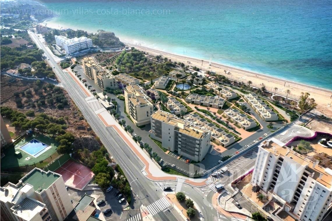 buy property Costa Blanca Spain - A0459 - Brand new 2 bedroom apartments in beach front location in Villajoyosa 1