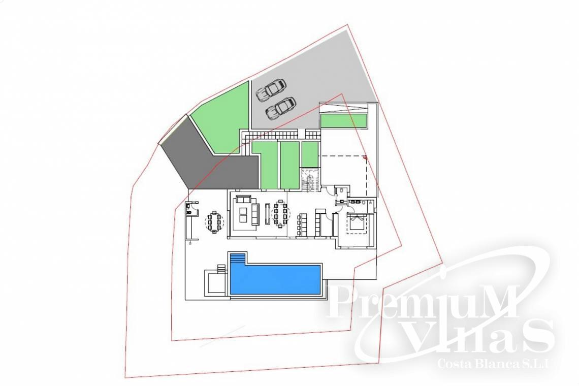 - C2238 - We build this villa soon at one of the best Altea plots 8