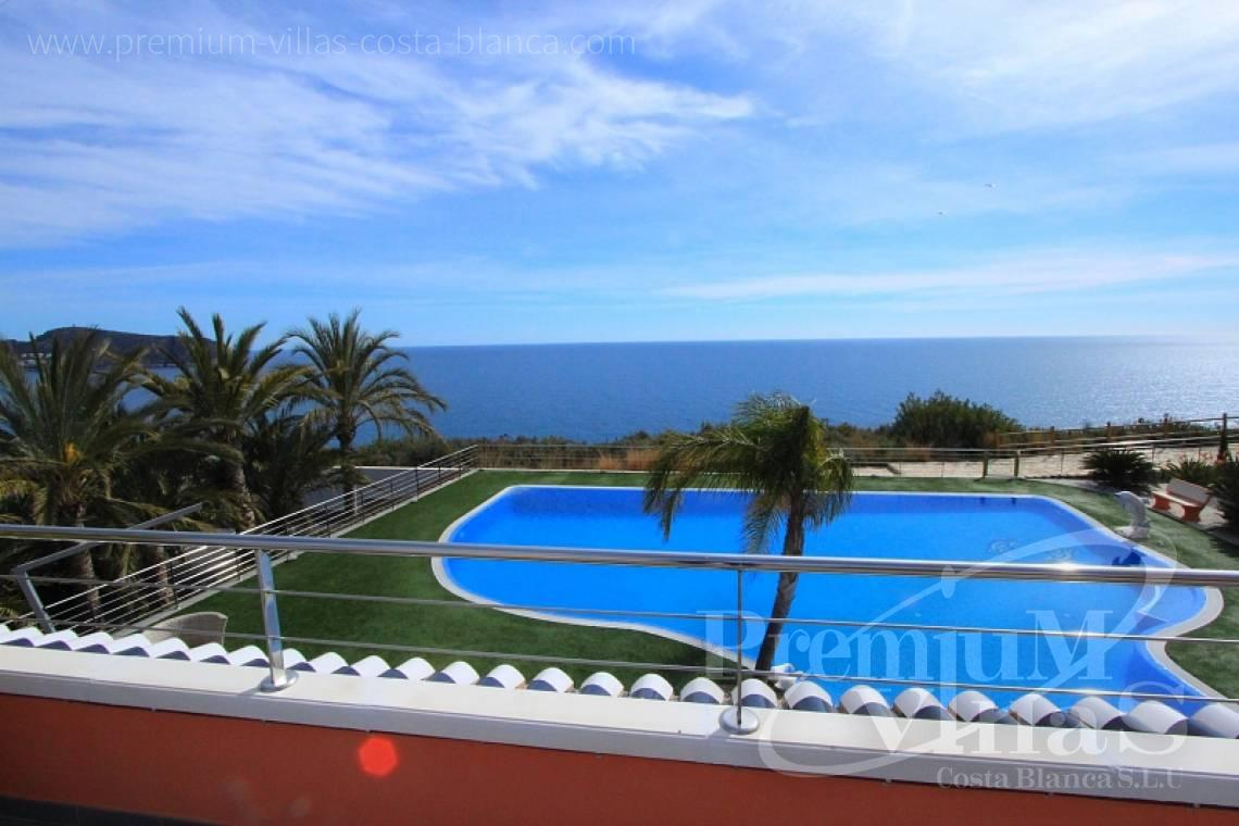front line villa for sale Moraira Costa Blanca  - C1589 - Magnificent mansion on the sea front in Moraira 4