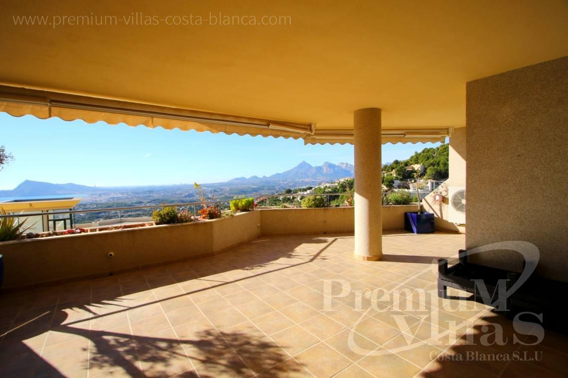Duplex penthouse apartment sea views Altea Calpe Costablanca - A0562 - Nice apartment in the Sierra Altea with beautiful sea views 2