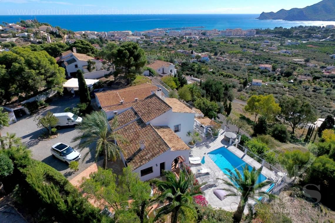 finca, land house for sale Benissa Costa Blanca - C2108 - Amazing villa near Altea Old town with sea views  1