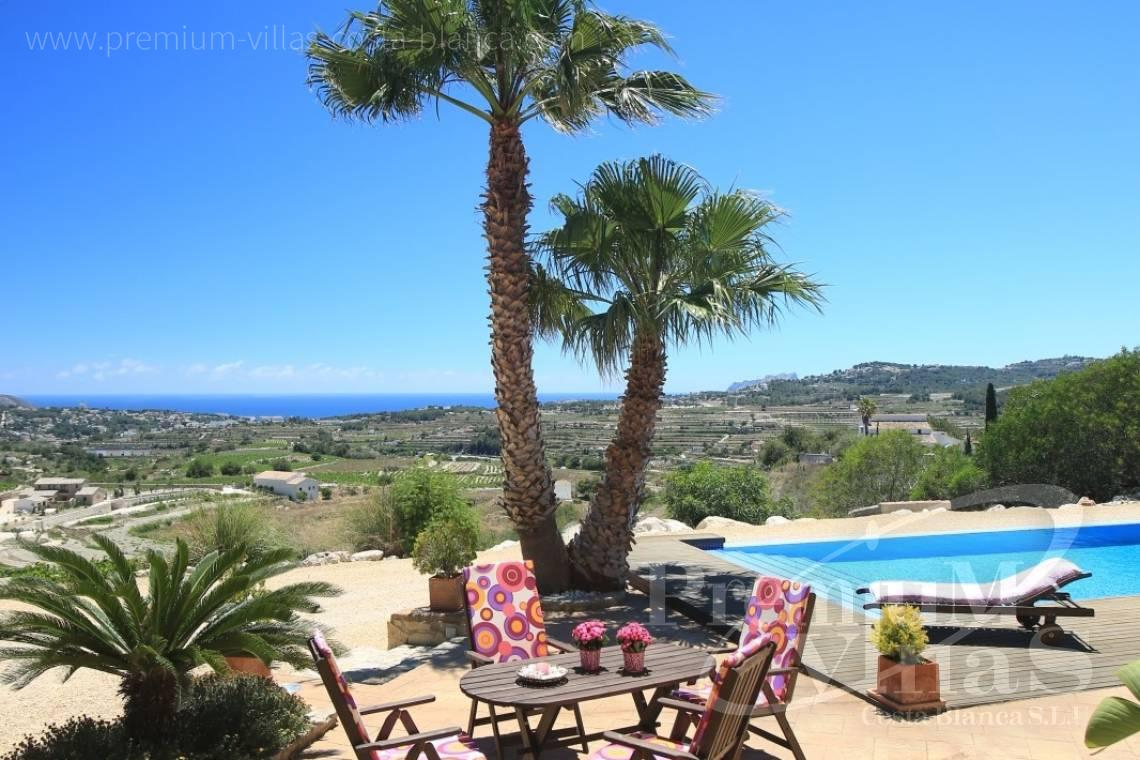 - C2199 - Moraira: Beautiful villa surrounded by vineyards with beautiful sea views. 16