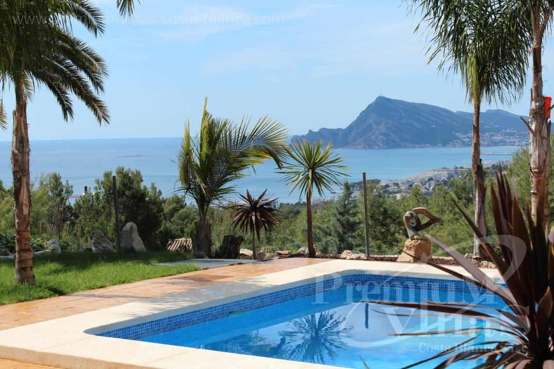 Buy 4 bedrooms villas houses sea view Altea Costa Blanca - C1265 - Villa with sea views for sale in Altea 1