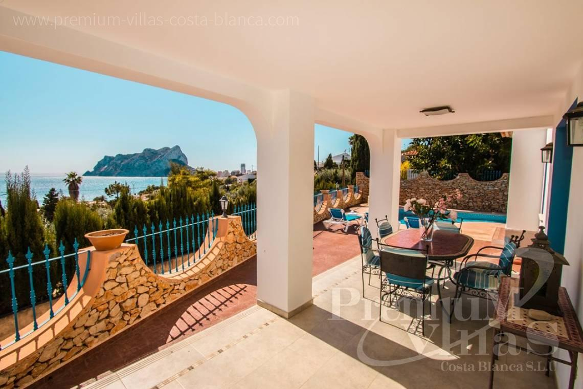 Buy villas houses sea view Calpe Costa Blanca - C2175 - Charming villa in Calpe 500m from the beach, with wonderful sea views 3