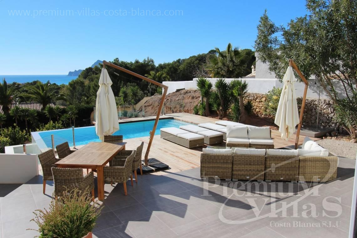 Ibiza style villa with sea views for sale in Altea Costa Blanca - CC2387 - Ibizan style villa with sea views in Altea 4