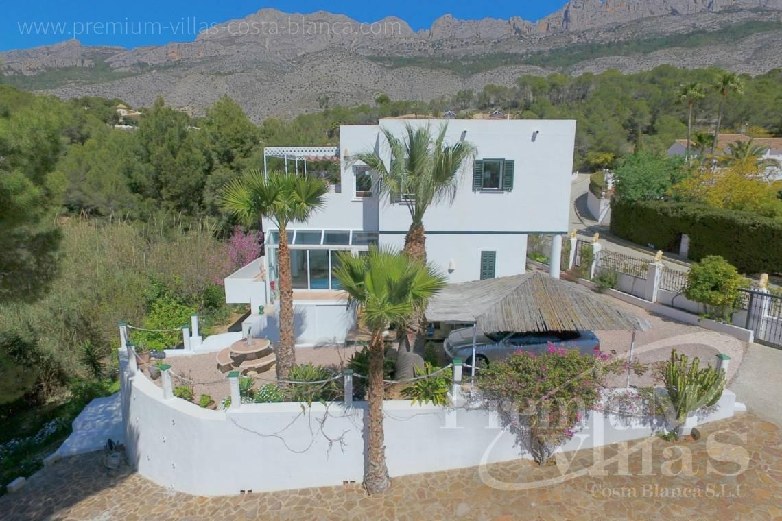 Buy villa near Don Cayo golf club in Altea Spain - C2141 - House in Altea with indoor pool, sauna, lift and guest apartment 3