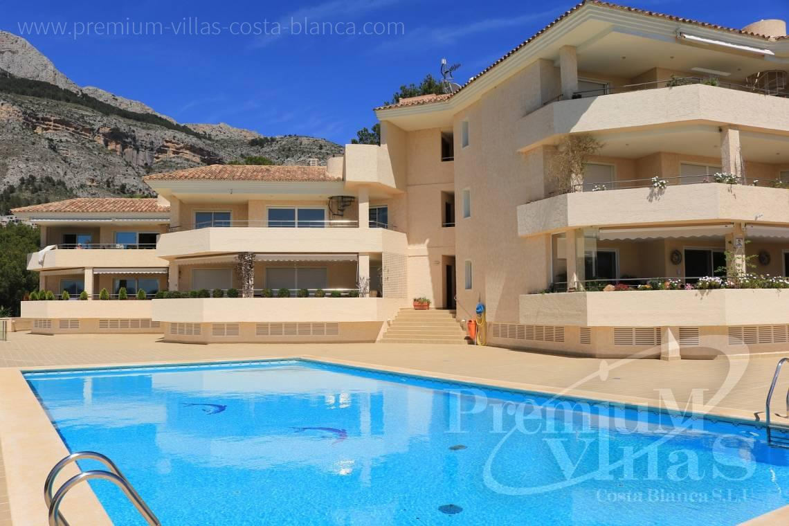 Duplex  apartment with sea views Altea Costablanca - A0508 - Apartment with sea views and 4 parking spaces in Altea 2